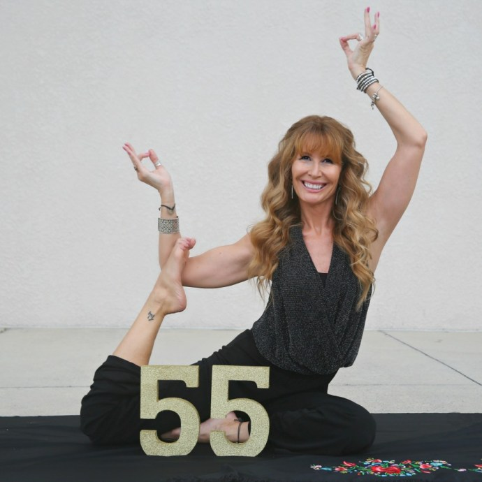 I just turned 55 and I'm so freaking grateful!