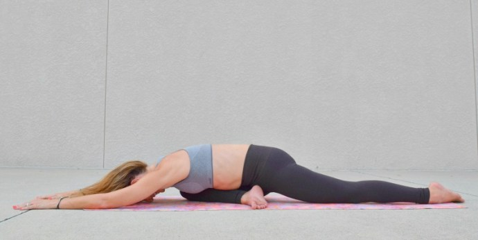 4 Yoga poses for menopause relief