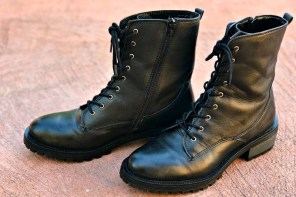 How to break in your fashion combat boots