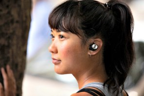 These wireless earbud headphones improved my workout