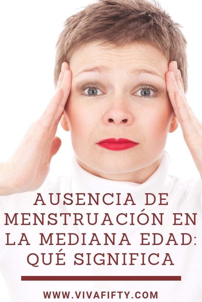 A partir de una cierta edad, empezamos a tener ausencia de menstruación. Esto puede resultar sorprendente e incómodo porque implica el inicio de otra etapa. #menstruacion #menopausia #perimenopausia