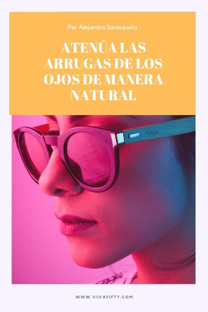 La piel de alrededor de los ojos es bien delicada y por ello denota antes arruguitas. Te explicamos cómo disimularlas de manera natural. #antiarrugas #belleza #ojos #gafas