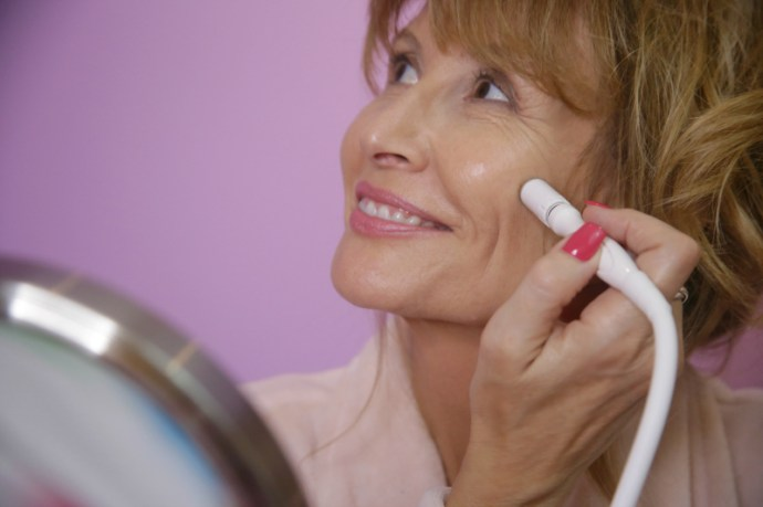 A microdermabrasion treatment you can do at home