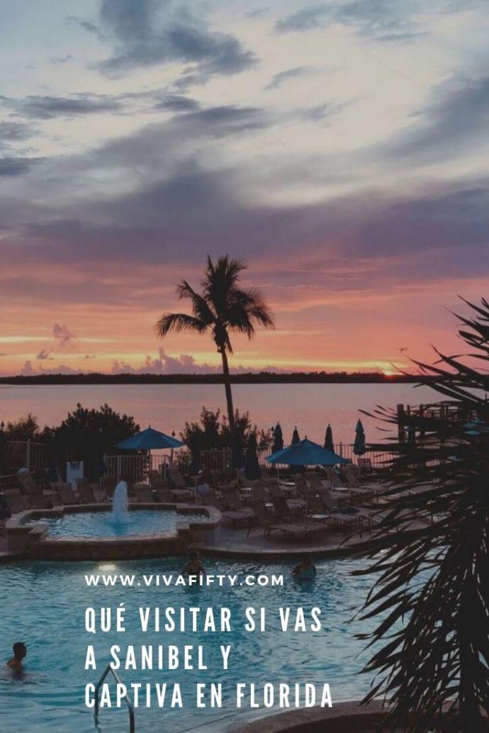 Si vienes a Florida alguna vez, no te pierdas las islas de Sanibel y Captiva, cerca de Fort Myers. Son espectaculares y tienen algunos tesoros escondidos.