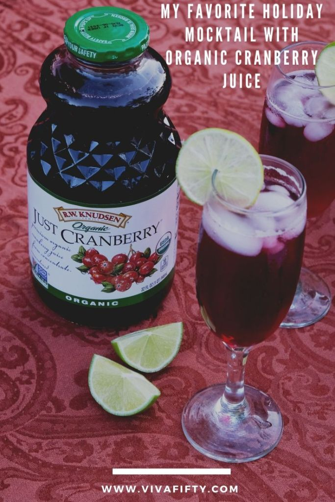 As the holidays approach, I'm excited to share my favorite mocktail: organic cranberry juice infused alcohol free Moscow Mule. #ad #rwknudsen