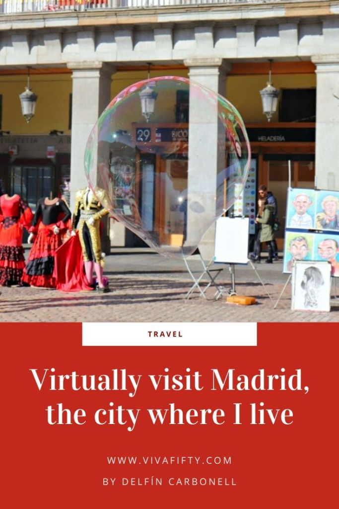 Although the world has come to a standstill, I would still like to give you a virtual tour of some of my favorite spots in Madrid.