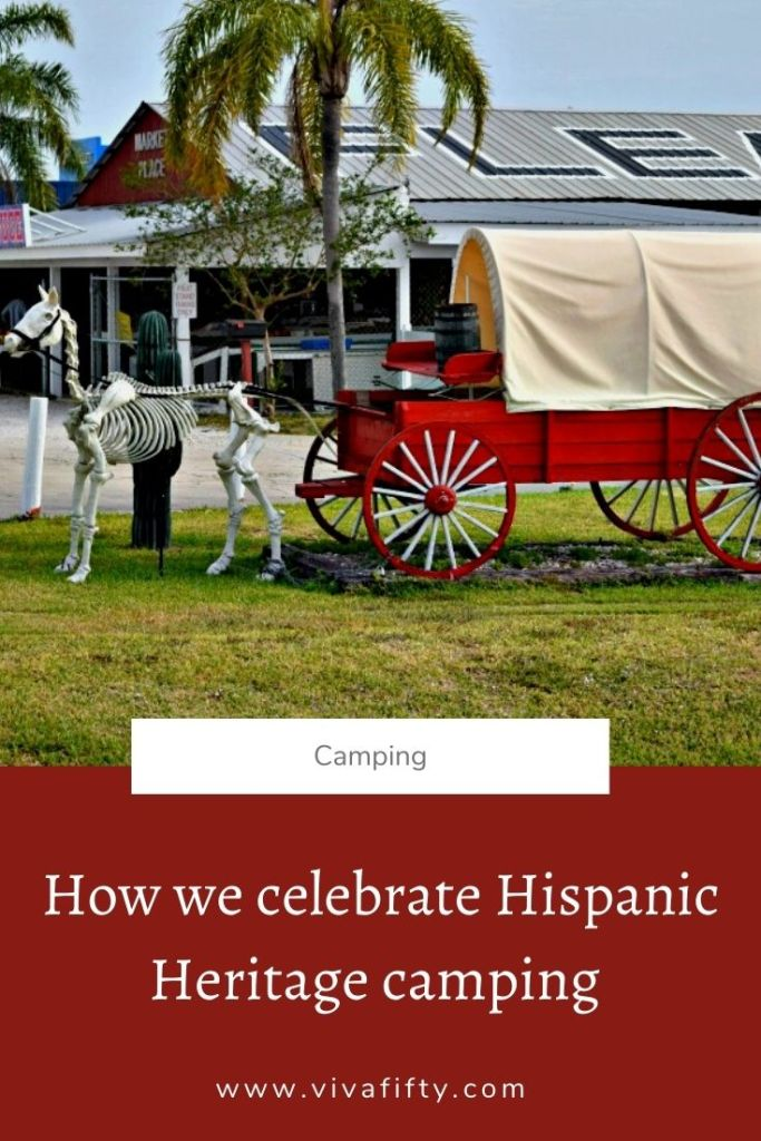 Camping is a great way to celebrate Hispanic Heritage month. Here are our tips to make that happen with your family.