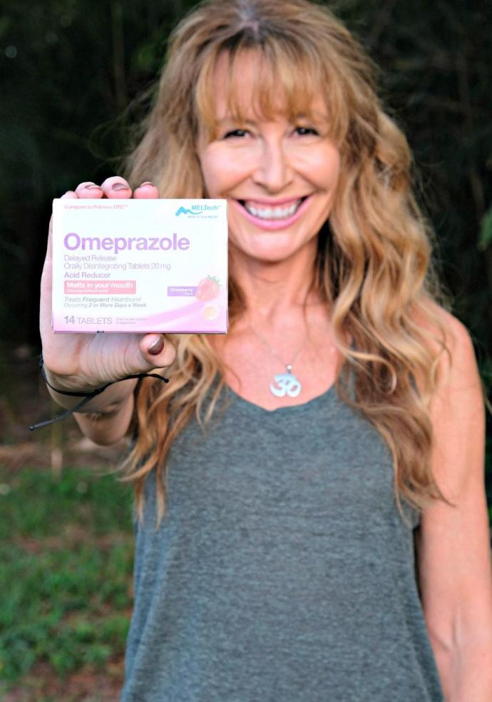 #ad The main trigger for my heartburn is stress, so I make a point of implementing relaxation techniques daily. When my heartburn just won´t go away, I use Omeprazole ODT. #DissolveHeartburn