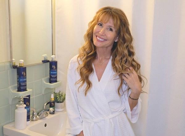 Lorraine C. Ladish with Hair Biology