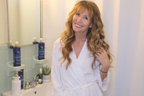 How I style my hair with serum for healthy strands in midlife