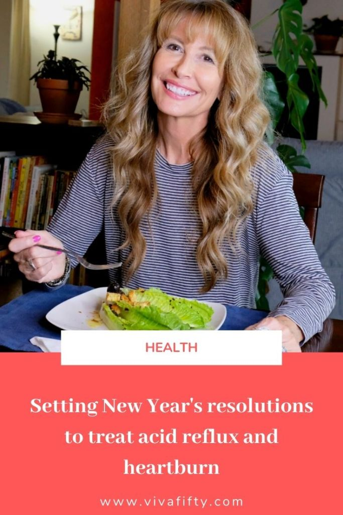 #ad The end of the year is a good time to take stock of how we've managed our heartburn and plan to take up healthy habits in the New Year. #DissolveHeartburn