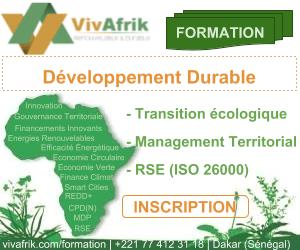 Formation en développement durable à Dakar au Sénégal
