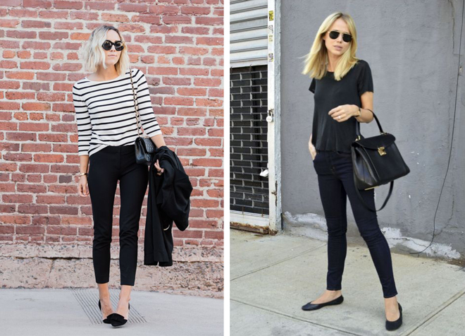 styling your jeans black crop jeans