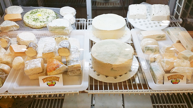 Vromage vegan cheese shop Los Angeles