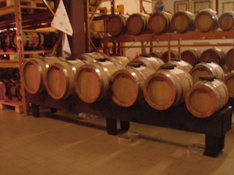 barrels of Extra Vecchio