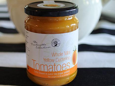 yellow dateline tomatoes