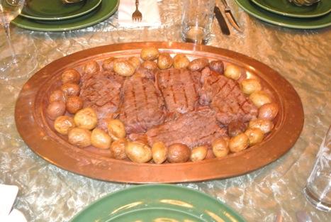 buffalo strip steaks