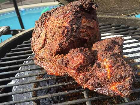 berkshire-pork-shoulder-on-grill