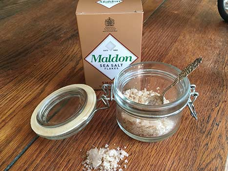 How to store maldon salt