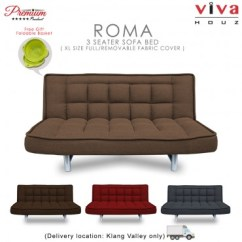 Sofa Bed Malaysia Murah Friheten Online Furniture Home Supplier Viva Houz Roma 3 Seater S