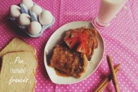 Receta de Pan francés o Tostadas francesas - Paso a paso