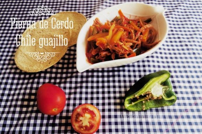 Pierna de Cerdo con Chile Guajillo