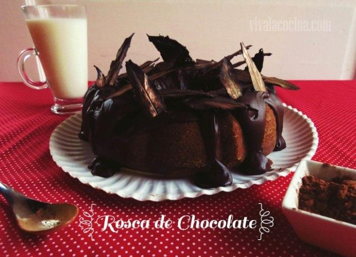 Rosca de Chocolate y Glaseado