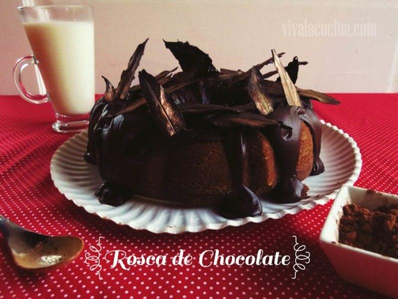 Receta de rosca de chocolate