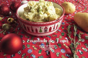 Ensalada de Papa para Navidad - Receta especial