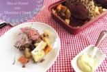 Res al horno con Mostaza y Nueces: Receta muy fácil