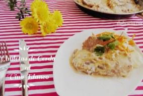 Chuletas de Cerdo al Vino Blanco: Receta muy fácil