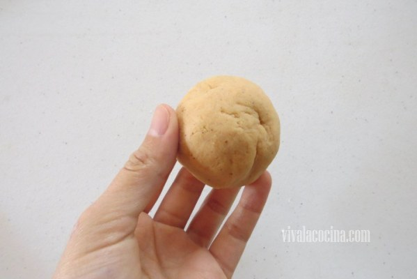 Bola de Masa de harina de maíz para las quesadillas fritas