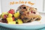 Pechuga de Pollo con Salsa de Mango Picante. Receta inspirada en el Jerk de Jamaica