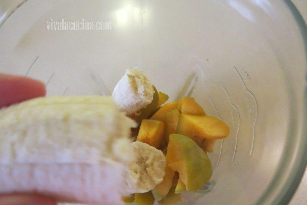 Agregar el mango