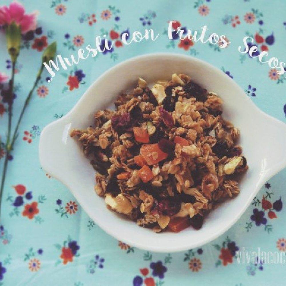 Muesli de Avena con frutos secos