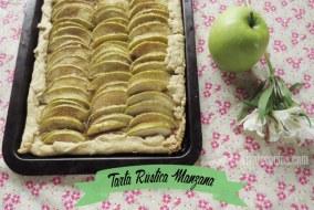Tarta Rústica Manzana. Receta de Tarta de manzana muy fácil