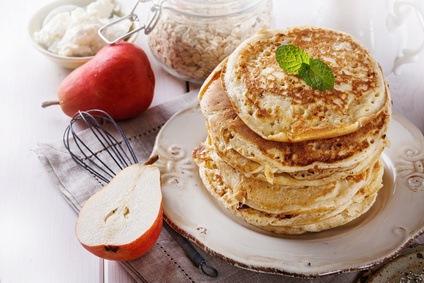 3 tipos de desayunos con avena, receta de panqueques y otras