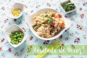 Ensalada de Arroz con Atún y Aceitunas | Receta fresca