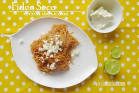 Sopa de Fideo Seco: Receta Mexicana