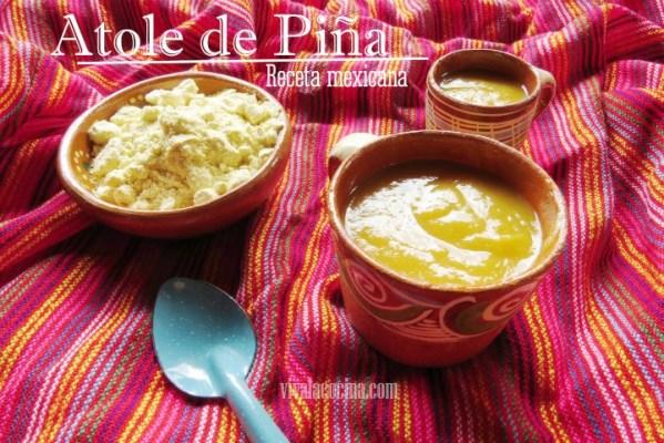 Atole de Pina