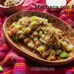 Receta Mexicana de Machaca con Papas: fácil y rápida