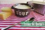 Crema de Tres Quesos: Parmesano, Gouda y Queso Crema