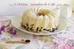 Receta de Gelatina Mosaico de Café y Queso Crema