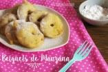 Cómo hacer Beignet de Manzana o Buñuelos de Manzana: Receta fácil