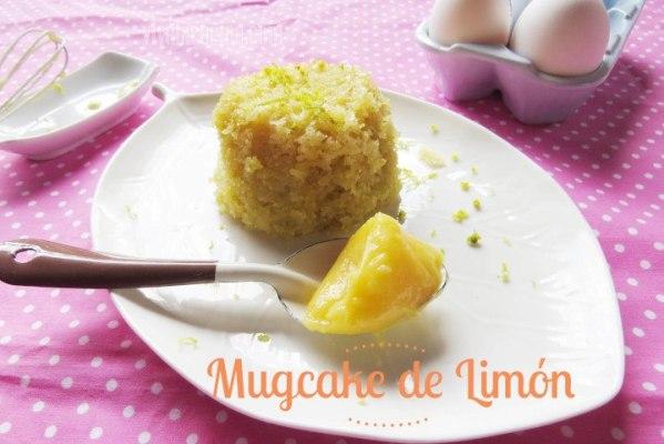 Mugcake de limón