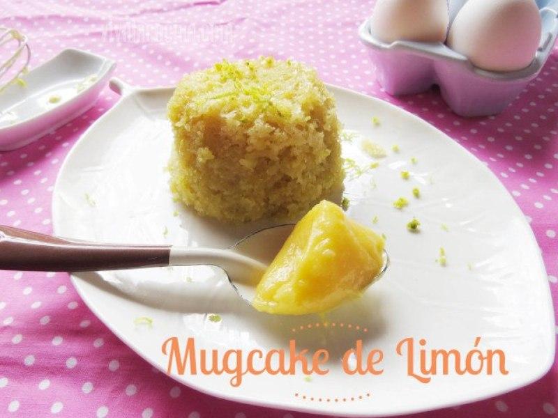 Receta de Mug Cake de Limón