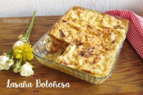 Cómo preparar Lasaña Boloñesa: Receta paso a paso