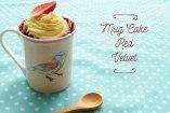 Mug Cake Red Velvet: Pastel en 5 minutos