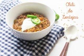 Cómo hacer Chili de Lentejas: un guiso Sencillo Tex Mex