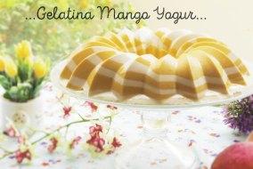 Gelatina de Mango y Yogur: Receta Fresca para el Verano